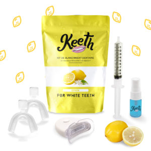 Kit de blanchiment dentaire au citron