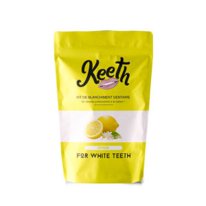 Lemon-flavoured teeth whitening kit