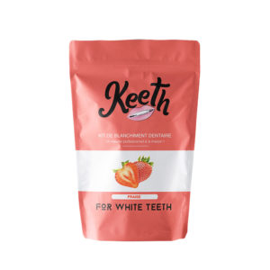 Strawberry-flavoured whitening kit