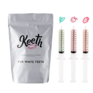 Whitening gel refills kit : our three best-selling flavours