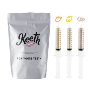 Whitening gel refills kit : exotic fruits flavour