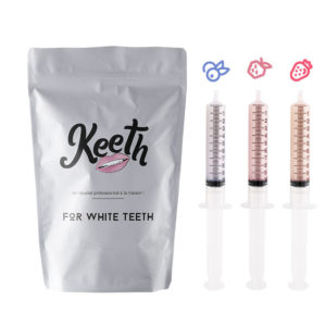 Whitening gel refills kit : forest fruits flavour